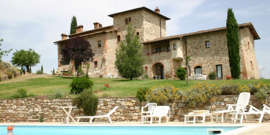 Agriturismo in the Chianti